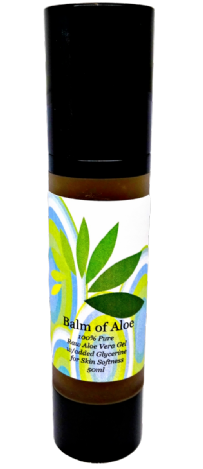 Balm of Aloe 100% Pure Raw Aloe Vera Gel VEGAN